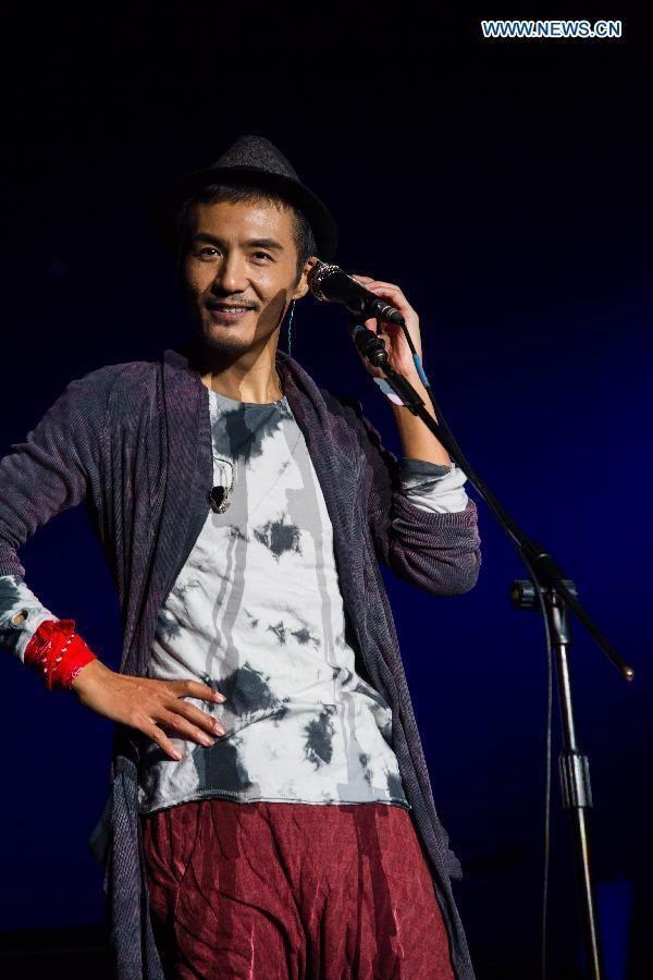 Pu Shu Singer Pu Shu holds concert in Nanjing Xinhua Englishnewscn