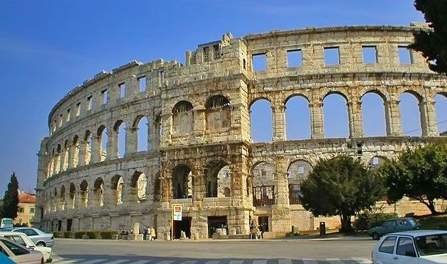 Pula in the past, History of Pula