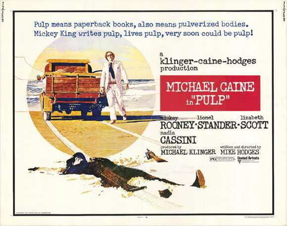 Pulp (1972 film) Vicious Imagery Films of Michael Caine 20 Pulp 1972