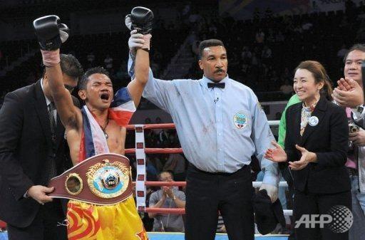 Pungluang Sor Singyu Thailand39s Pungluang Sor Singyu takes WBO Bantam Title