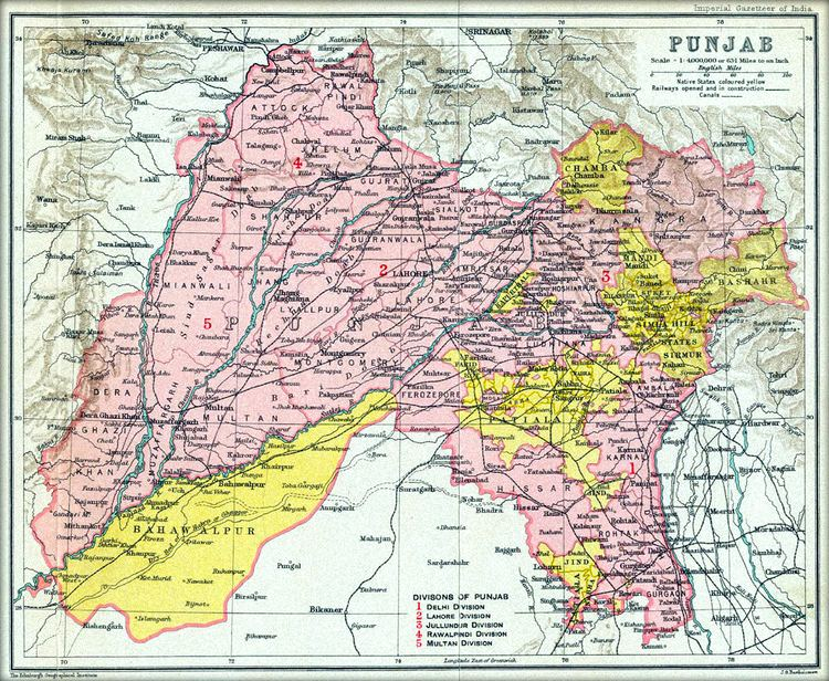 Punjab, Pakistan in the past, History of Punjab, Pakistan