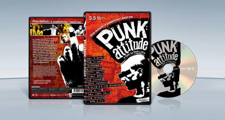 Punk: Attitude Punk Attitude 2005 DVD Cover Kellerman Design