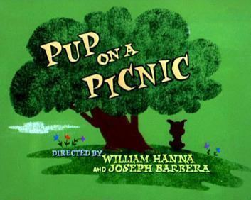 Pup on a Picnic movie poster