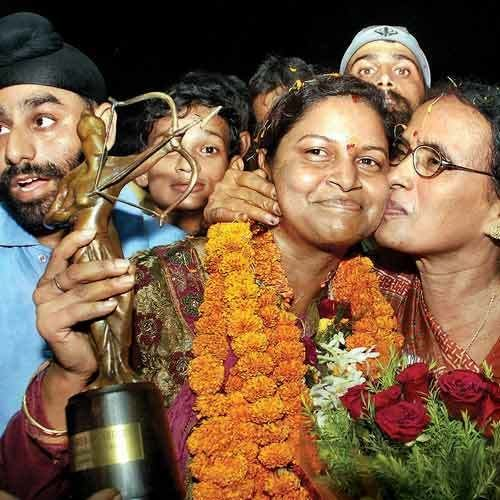 Purnima Mahato I can39t be at peace till India win gold Archery coach