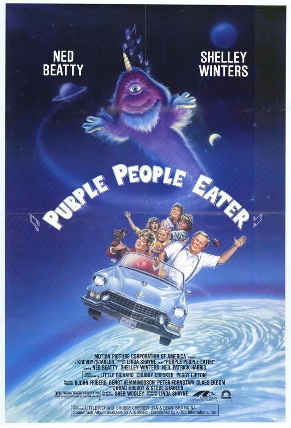 Purple People Eater (film) Purple People Eater Movie 1988