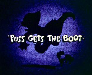 Puss Gets the Boot movie poster