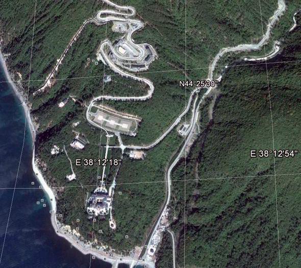 Putin's Palace Russian opposition claim Vladimir Putin owns palace on the Black Sea