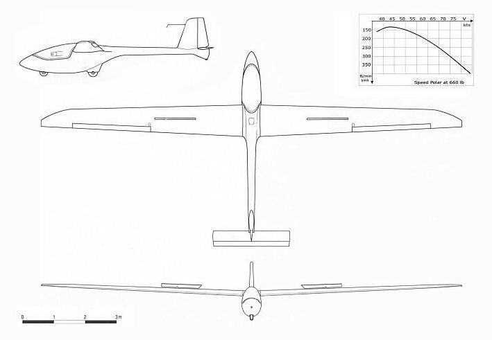PW-5 World Class Glider B1PW5