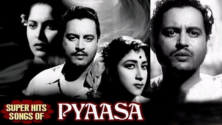 Pyaasa Pyaasa Hindi Movie Old Classic Songs Collection Guru Dutt Mala