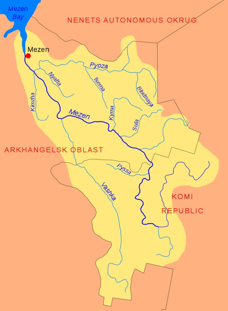 Pyoza River