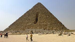 Pyramid of Menkaure Pyramid of Menkaure Wikipedia