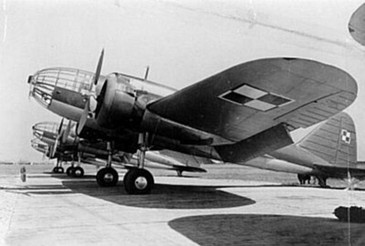 Avion chasseur Jet pzl.37b Los briques construction spielzeig
