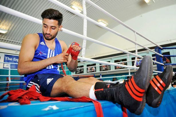 Qais Ashfaq Commonwealth Games Amir Khan backs Qais Ashfaq to follow