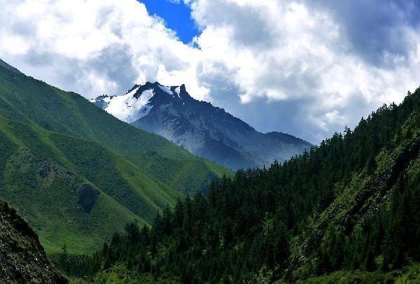 Qilian Mountains wwwchinadailycomcnmgansuimagesattachementj