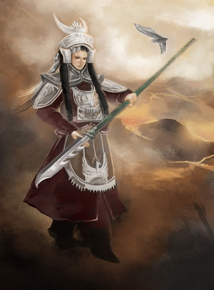 Qin Liangyu Qin Liangyu Chinese general by Judy Lam on Visualart Mindful