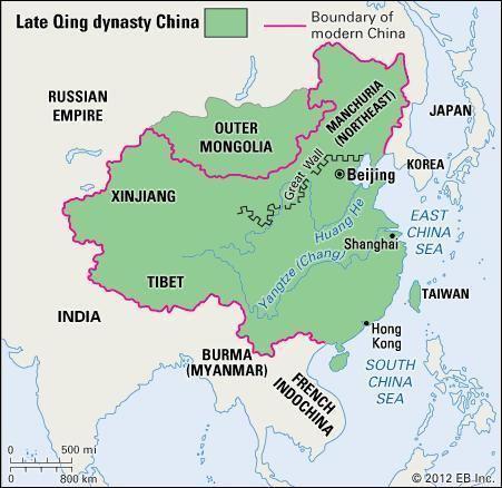Qing dynasty Qing dynasty Chinese history Britannicacom