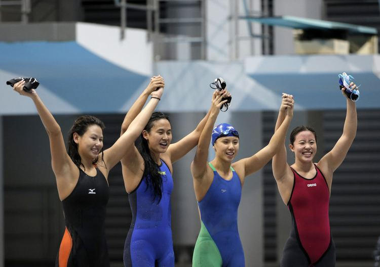 Quah Ting Wen It39s official SEA Games 2015 Team S39pore swimmers GOAT