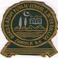 Quaid-E-Azam Public School and College Paniola Poonch A.K httpsuploadwikimediaorgwikipediacommons44