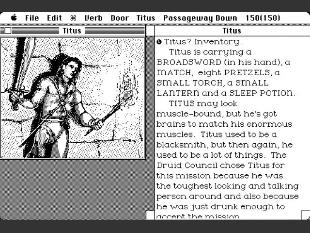 Quarterstaff: The Tomb of Setmoth Interactive Fiction Games Macintosh Repository