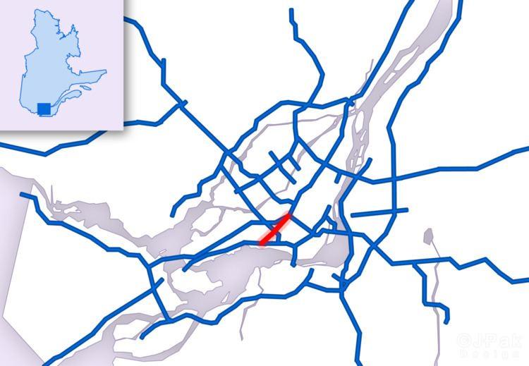 Quebec Autoroute 520