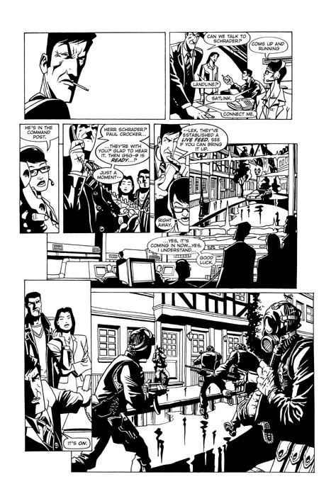 Queen & Country Queen amp Country Operation Crystal Ball Excerpt Greg Rucka
