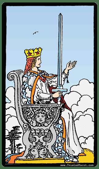 Queen of Swords Queen of Swords Tarot Card Meaning timing amp more