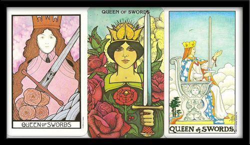 Queen of Swords Queen of Swords Tarot Card Meaning