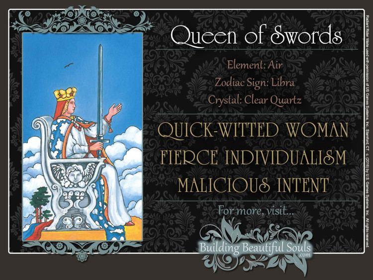 Queen of Swords The Queen of Swords Tarot Card Meanings Tarot Reading