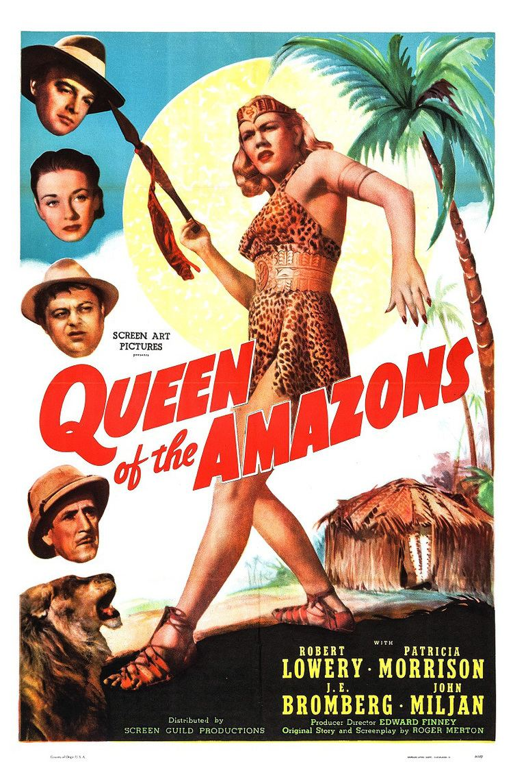 Queen of the Amazons Feared Above All Else She Was Queen of the Amazons 1947 The