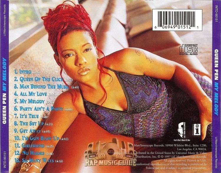 Queen Pen Queen Pen My Melody CDs Rap Music Guide
