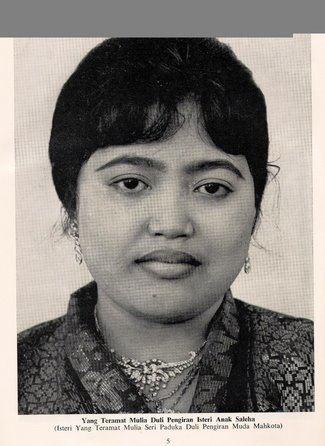 Queen Saleha of Brunei royal rich famous Queen Saleha