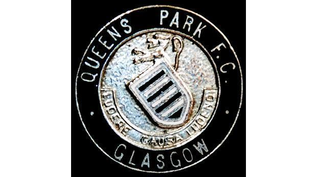 Queen's Park F.C. BBC A History of the World Object 1950 Queen39s Park FC Pin Badge