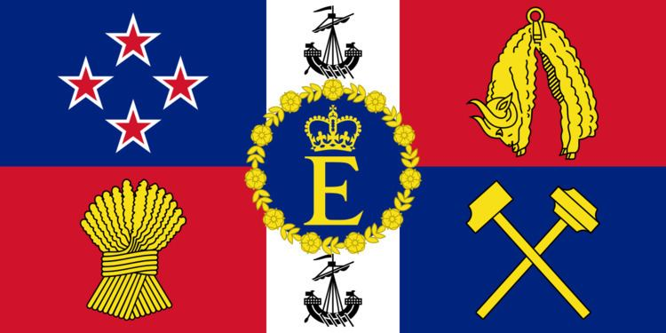 Queen's Personal Flag for New Zealand