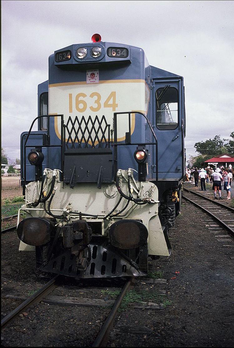 Queensland Railways 1620 class