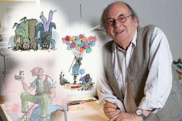 Quentin Blake Sir Quentin Blake Roald Dahl book illustrator is the man