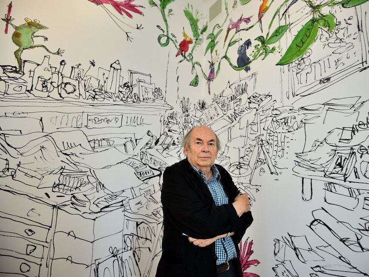 Quentin Blake Quentin Blake opens House of Illustration gallery in