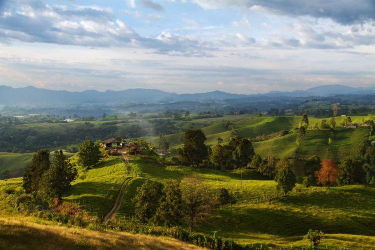 Quindio Department Beautiful Landscapes of Quindio Department