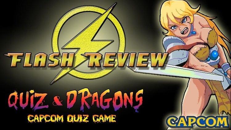 Quiz & Dragons: Capcom Quiz Game FlashReview Quiz amp Dragons Capcom Quiz Game ARCADE YouTube