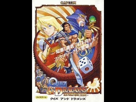 Quiz & Dragons: Capcom Quiz Game Capcom Classics Collection Vol 2 PS2 Part 13 Quiz amp Dragons