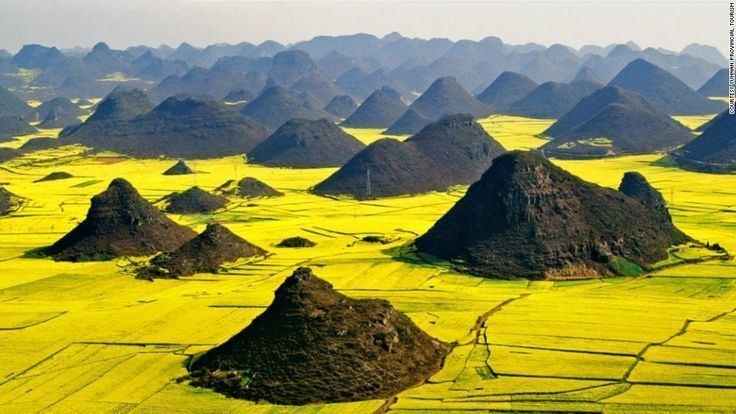 Qujing Beautiful Landscapes of Qujing