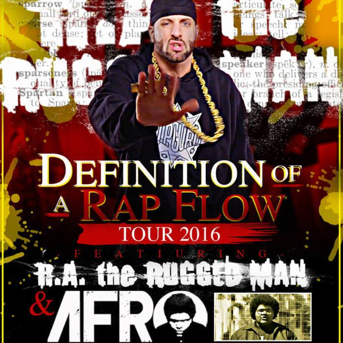R.A. the Rugged Man RA the Rugged Man AFRO w special guests Wisdom Portland