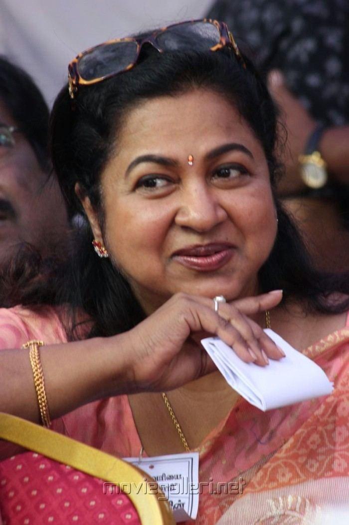 Raadhika Raadhika Sarathkumar at Tamil Film Industry Strike Against Service