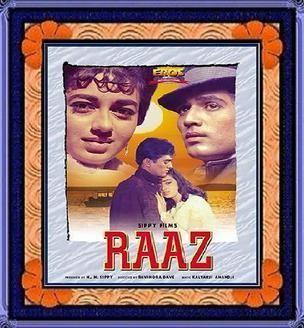 Raaz (1967 film) movie poster