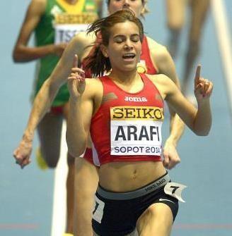Rababe Arafi African Athletics Morocco39s Arafi El Kaam shine in
