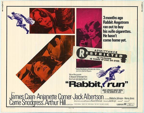 Rabbit, Run (film) MOVIE REVIEW Rabbit Run 1970 Bored and Dangerous