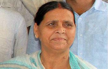 Rabri Devi Rabri Devi confident of Congress alliance for 2014 general