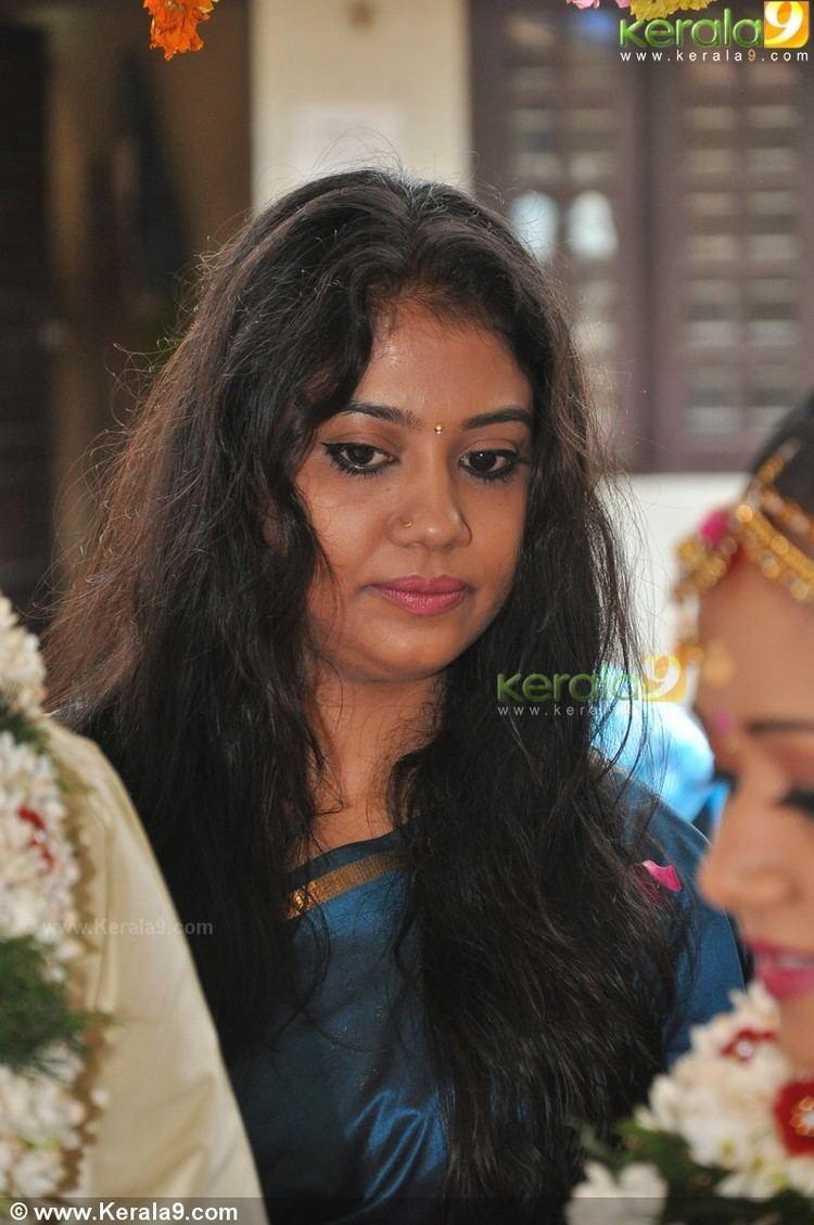 Rachana Narayanankutty Rachana narayanankutty at saranya sasi marriage photos75
