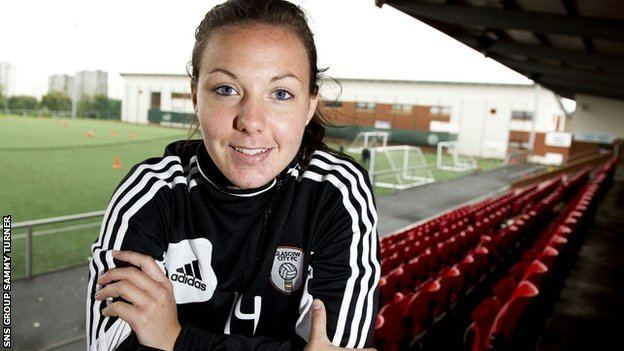 Rachel Corsie BBC Sport Glasgow City39s Rachel Corsie excited about