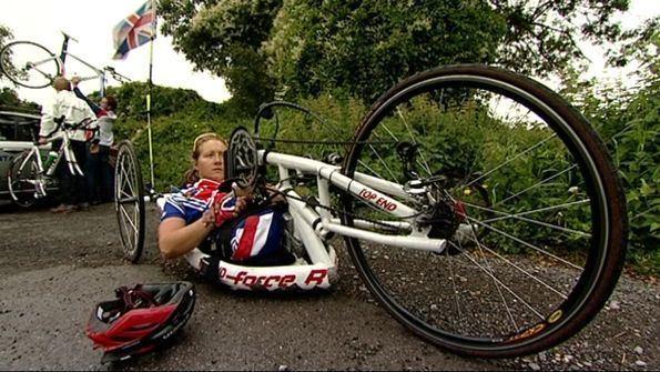 Rachel Morris BBC Ollie Williams Rachel Morris Racing against her