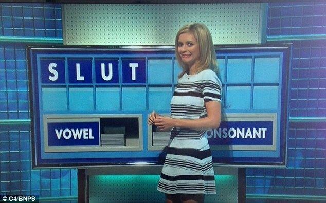 Rachel Riley Rachel Riley left redfaced on Countdown Daily Mail Online